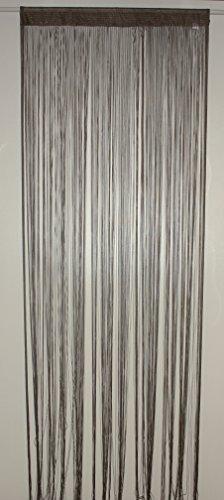 Homemaison Spaghetti HM69807874 Fadenvorhang, Taupe