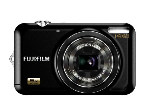 Fujifilm FINEPIX JX280 Digitalkamera (14 Megapixel, 5-fach opt. Zoom, 6,9 cm (2,7 Zoll) Display) schwarz