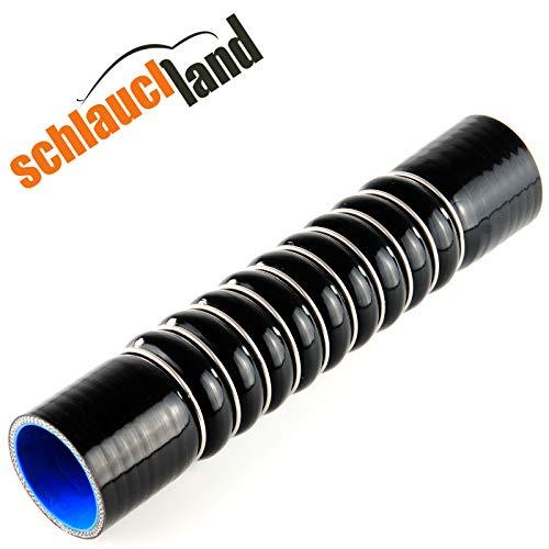 ULTRAFLEX Silikonschlauch ID 60mm schwarz*** Ladeluftkühler 0-45° Winkel