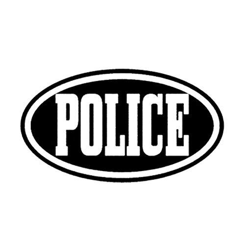 Empty 3 Piezas Pegatinas De Coches Policía De Personalidad De 13,3 Cm...