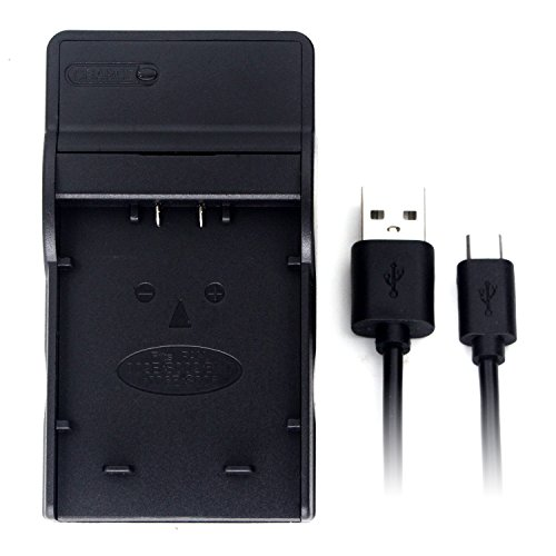 CGA-S002 USB Cargador para Panasonic Lumix DMC-FZ1, DMC-FZ10, DMC-FZ15, DMC-FZ18, DMC-FZ2, DMC-FZ20, DMC-FZ28, DMC-FZ3, DMC-FZ30, DMC-FZ35, DMC-FZ38, DMC-FZ4, DMC-FZ5, DMC-FZ50, DMC-FZ7, DMC-FZ8