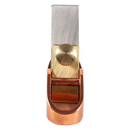 MILISTEN Planchas de Madera Planchas de Madera Herramientas de Carpintero para Cortar Madera Superficie de Cepillado de Madera Alisado 12Mm Dorado