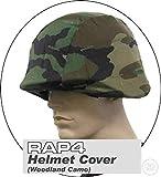 Rap4 Tactical Helmet Cover - Woodland -