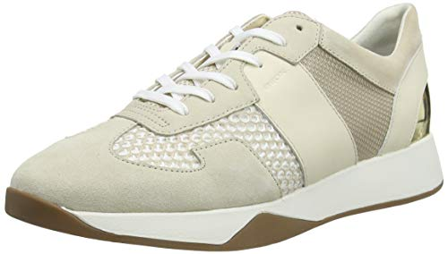 Geox D SUZZIE B, Zapatillas Mujer, Beige, 40 EU