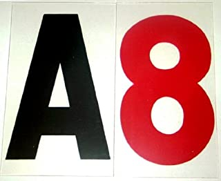 9 plastic letters for outdoor signs