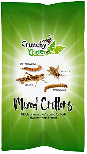 Crunchy Critters Edible Insects Mixed Critters