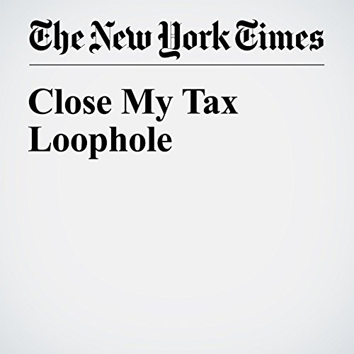 Close My Tax Loophole audiobook cover art