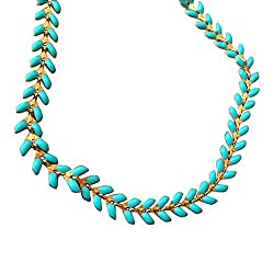 turquoise anklet on amazon.