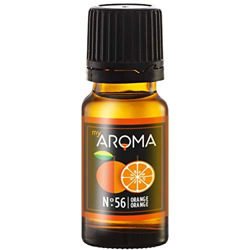 myAROMA | No. 56 (Orange, 10 ml) | Rein natürliches Aroma | Geschmackstropfen zum Kochen, Backen & Mixen | Zuckerfrei & ohne Süßung
