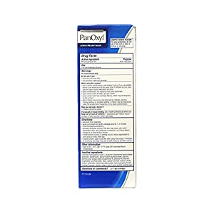 Panoxyl 4% Benzoyl Peroxide Acne Creamy Wash 6 oz (Pack of 2)