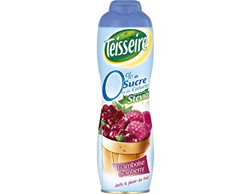 Teisseire Sirup 0% Zucker Himbeer Cranberry 600ml