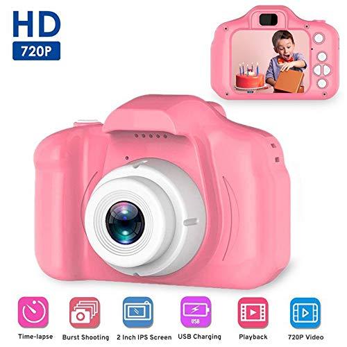 "Baiwka Cámara Digital para niños, Pantalla a Prueba de Golpes de 2""Cámara para niños pequeños Cámara de grabación de Video Infantil HD Recargable para niños Niñas Cumpleaños, Azul"