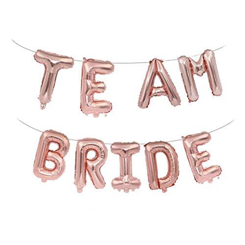 Ballonnen team hoofdhuid folie Engels woorden Banner voor bruiloft Salon verloving partij Ornament