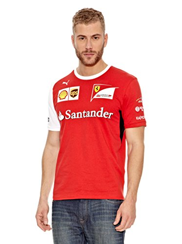 PUMA SF Scuderia Ferrari T-Shirt XS S M L XL 2XL rot Herren Motorsport Fanshirt XL