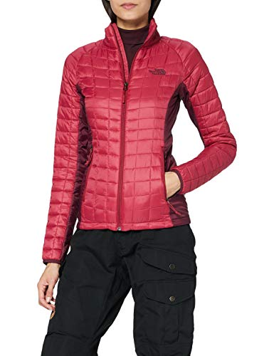 THE NORTH FACE Damen Thermoball Sportjacke, Rumba Red/Fig, S