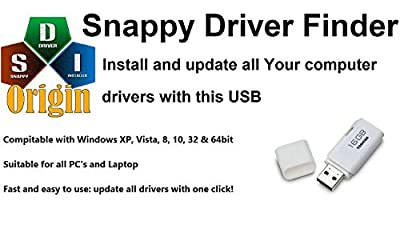 Windows Drivers Finder: Install Missing Drivers Automatically, Wifi, Network, Graphics and much more for ALL Windows Computer & Laptop PC software on USB
