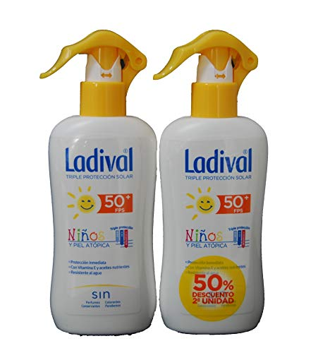 Ladival Solar - Spray Niños Spf50+; 200ml. Duplo.