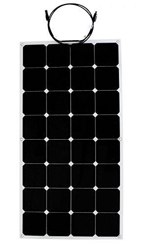 Solar panel flexible 100W Backcontact 12V Semi flex flexibel Monokristallin