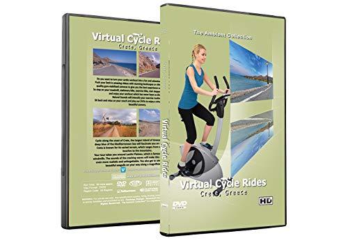 Virtuelle Fahrradtouren DVD - Kreta, Griechenland - für Indoor Radfahren, Laufband und Jogging Workouts