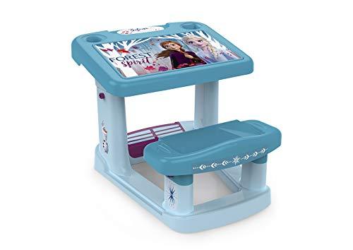 Chicos Primer, Pupitre Infantil, Incluye Láminas de Frozen II, a Partir de 24 Meses, Color Muticolor, 57.5 x 72.5 x 49 cm (Fábrica de Juguetes 51129)