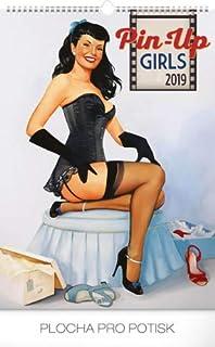 PIN UP - Calendario 2019 para niñas, tamaño grande, diseño de póster