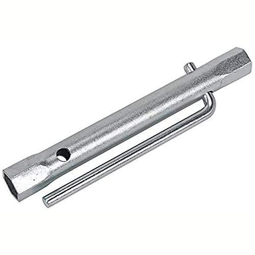 14-16mm Spark Plug Wrench Tap Back Nut Spanner Tubular Torque Bar Socket 20cm Length