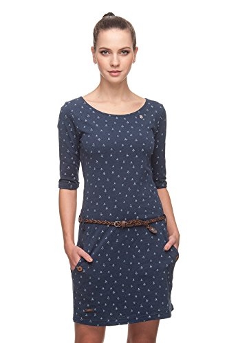 Ragwear Kleid Damen Tanya B 1821-20003 Indigo 2050, Größe:XS