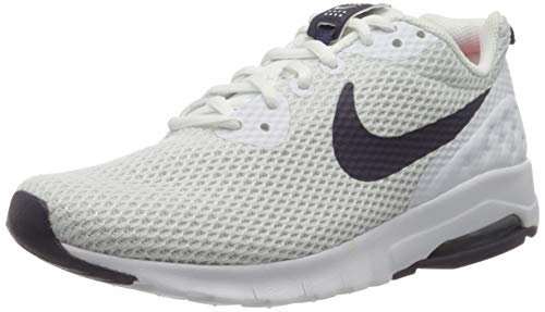 Nike Wmns Air MAX Motion LW Se, Zapatillas para Mujer, Blanco (White/Purple Dynasty), 39 EU