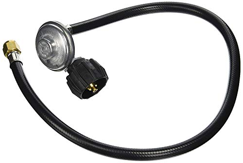 Weber 7627 30' Replacement Gas Grill Hose w QCC1 Regulator - Quantity 4