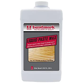 Lundmark Liquid Paste Wax with Carnauba Wax 32-Ounce 3208F32-6