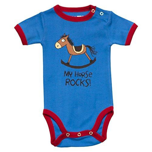 LazyOne Garçon My Horse Rocks Body Bebe Vest 6 Months