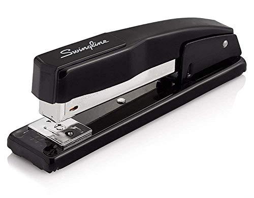 Swingline Stapler, Commercial Desk Stapler, 20 Sheets Capacity, Black, Black, 2 Pack (S7044401AZ)
