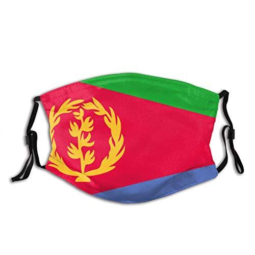 XIHUAN Eritrea-Flagge Eritrea-Flaggen, Stoff, waschbar, verstellbare Baumwolle, Gesichtsmaske, Unisex, Erwachsene für Damen, Herren