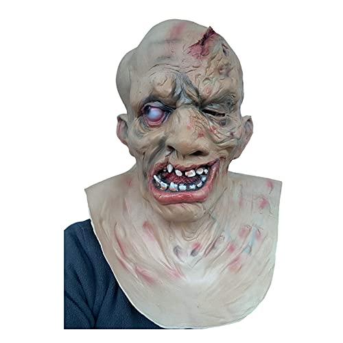 Máscara Jason Parte IV, Halloween, horror, asesino de lago de cristal, calidad de...