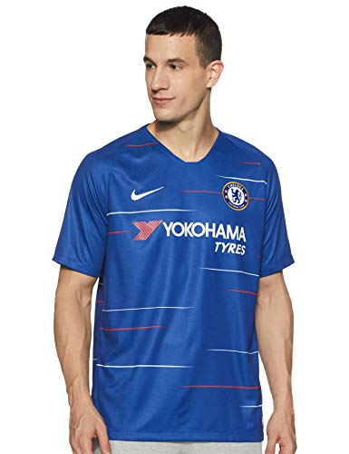 NIKE 20182019 Chelsea Home Football Shirt Large ,Rush BlueWhite