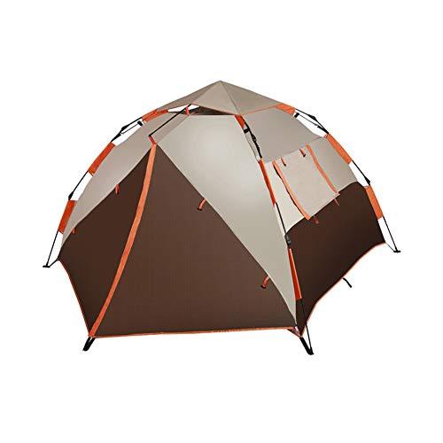 MAI&BAO Dôme d'abri pour extérieur, Protection UV Tente pour la Plage, Les Festivals et Le Camping 3-4 Personnes Grand Espace Brown