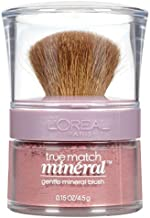 L'Oreal Paris True Match Gentle Mineral Blush, Soft Rose [488] 0.15 oz (Pack of 2)