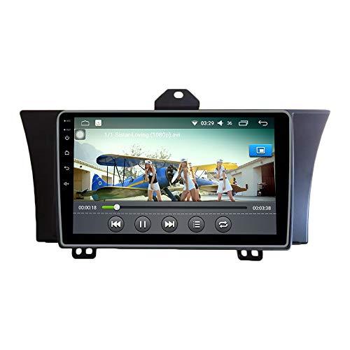 Android 10 Autorradio Navegación del Coche Unidad Principal Estéreo Reproductor Multimedia GPS Radio IPS 2.5D Pantalla táctil porHonda Elysion 2012-2015