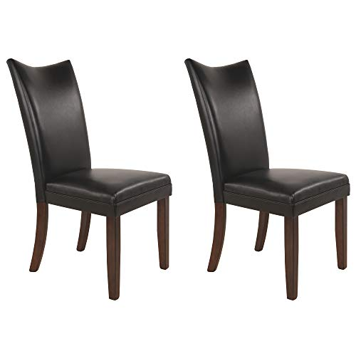 Signature Design by Ashley Charrell Dining Room Chair, Black
