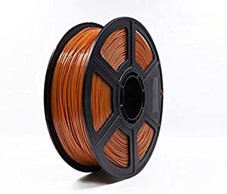 Flashforge PLA 1.75 3D Printer Filament by WOL-3D (Brown)