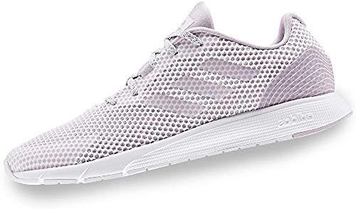 Adidas Sooraj, Running Shoe Mujer, Cloud White/Mauve, 35 EU