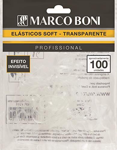 Elástico Soft Transparente, 8261, Marco Boni, Transparente, 100 Unidades
