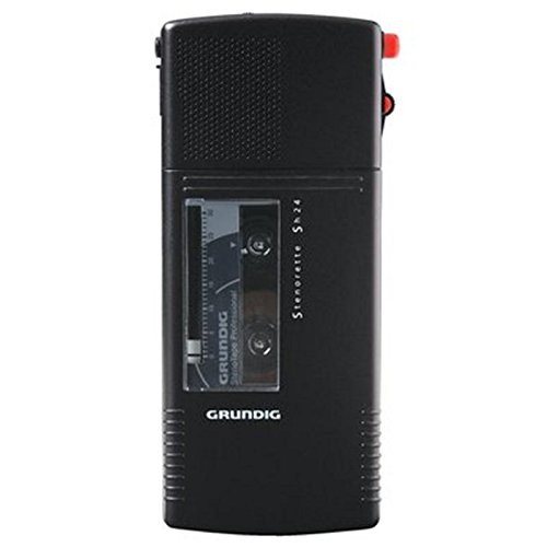 Diktiergerät Grundig Sh 24, analog, deep black