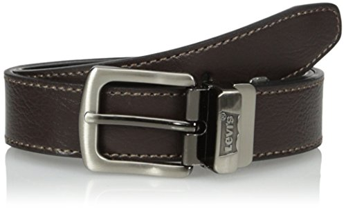 Levi's Big Boys Levi's Boys Reversible Belt With Contrast Stitch, Brown/black, S