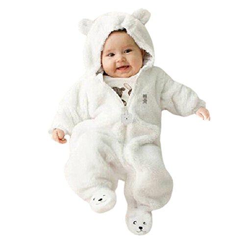 PinkLu Oso Estilo Cremallera Cremallera Mameluco Mono Cuentos Infantiles OtoñO Invierno ReciéN Nacido Bebé NiñO NiñA Oso Sudadera con Capucha Mono Mameluco Ropa