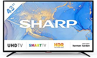 "Sharp 43BJ6E 43"" 4K Ultra HD TV"