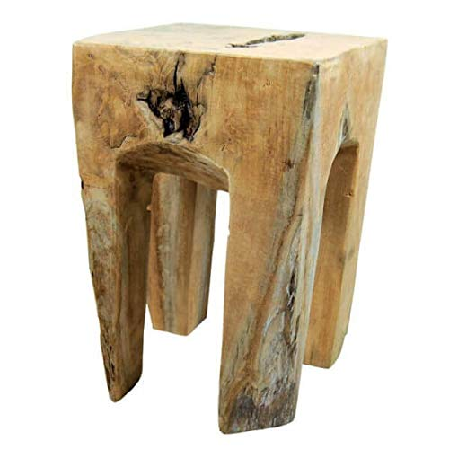 Mathi Design Wurzel – Hocker aus Naturholz