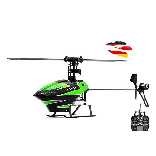 HSP Himoto - Helicóptero radiocontrol Mini Helicóptero Flybarless RC (Single rotor de helicóptero de 4 canales con tecnología de 3 Axis giroscopio y 2,4 GHz Incluye kit de Crash 4 canales