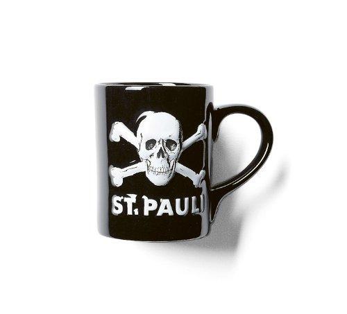 upsolut merchandising FC St. Pauli Kaffebecher Totenkopf 3D