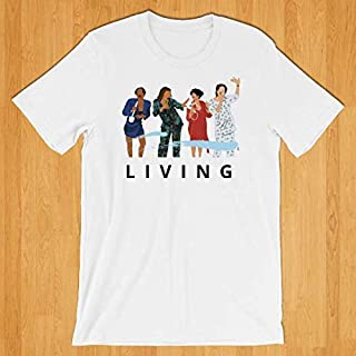 Living Single T-shirt from 90's TV Classic TV Show Gift for BFF, Best Friend, Girl Friend, Bachelorette Party T-shirt